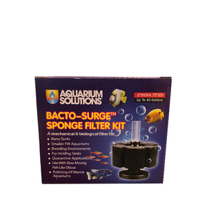 Aquarium Solutions Bacto-Surge Foam Filter