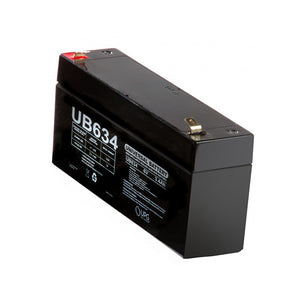 Sweeney Battery-6 Volt, 3.4 AMP-HR