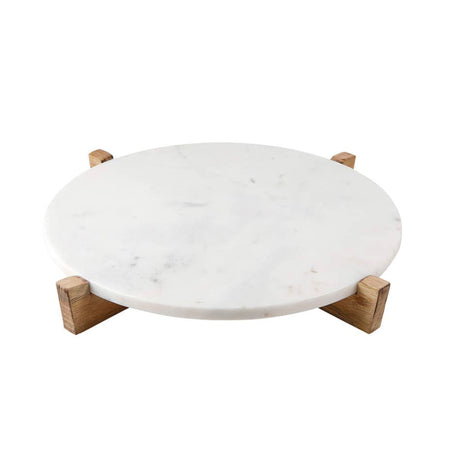 Marble & Mango Wood Tray