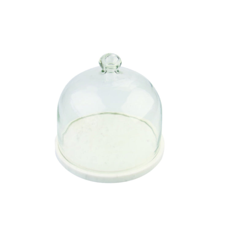 Marble & Glass Cloche