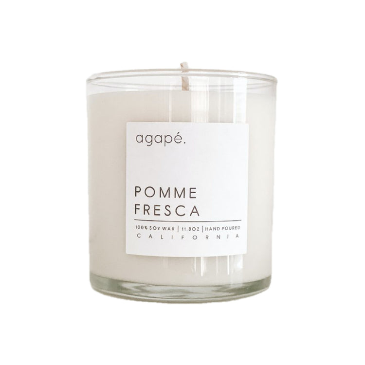 Agape Pomme Fresca Candle
