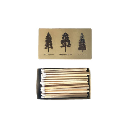 Golden Pines Matchbox