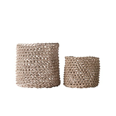 Woven Paper Baskets