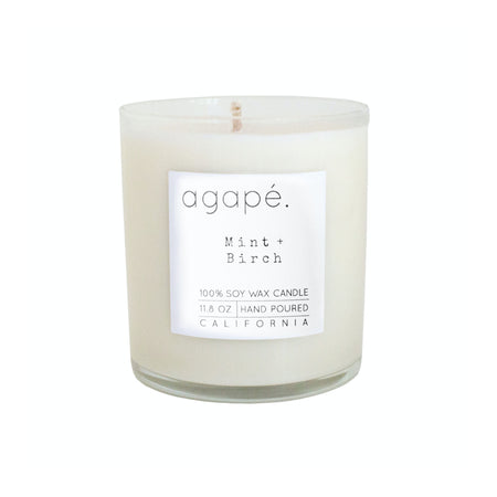 Agape Mint Birch Candle