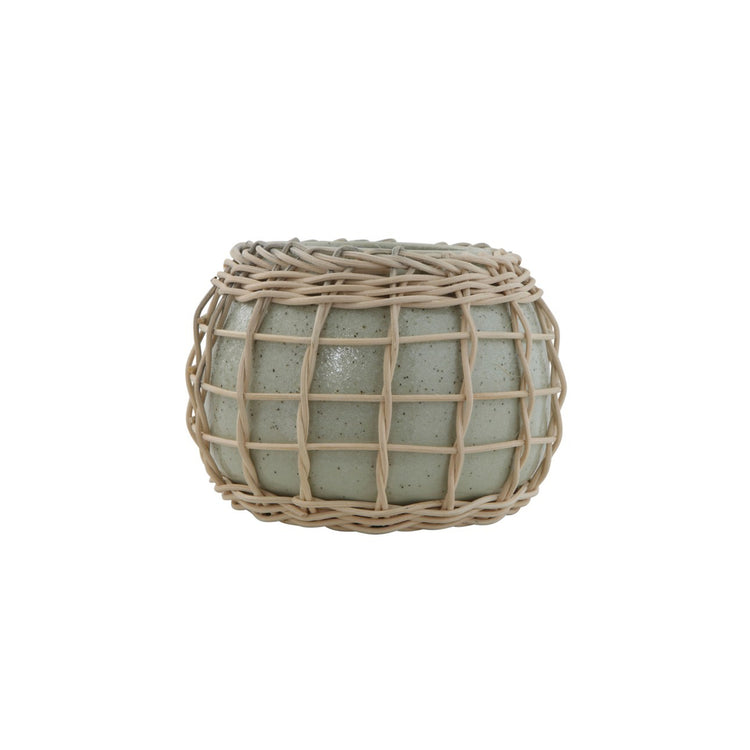 Bamboo Weave Planter