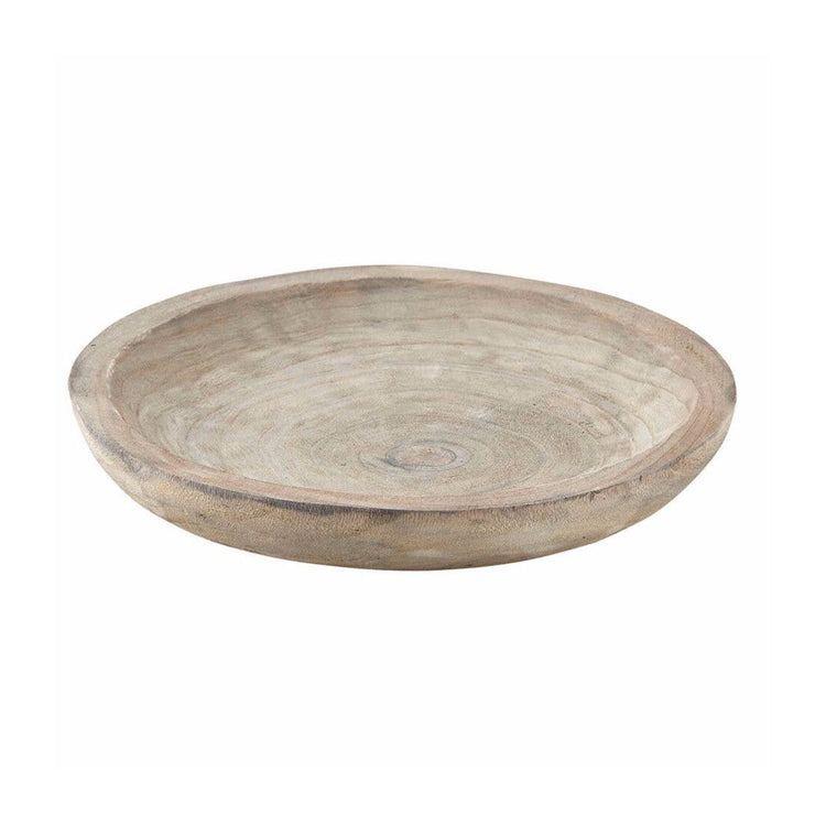 Paulownia Wood Bowl (Grey)