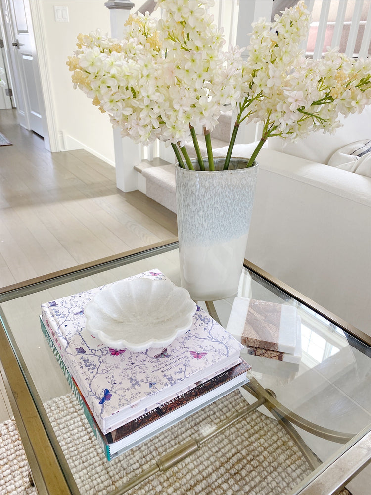 Marble Flower Dish