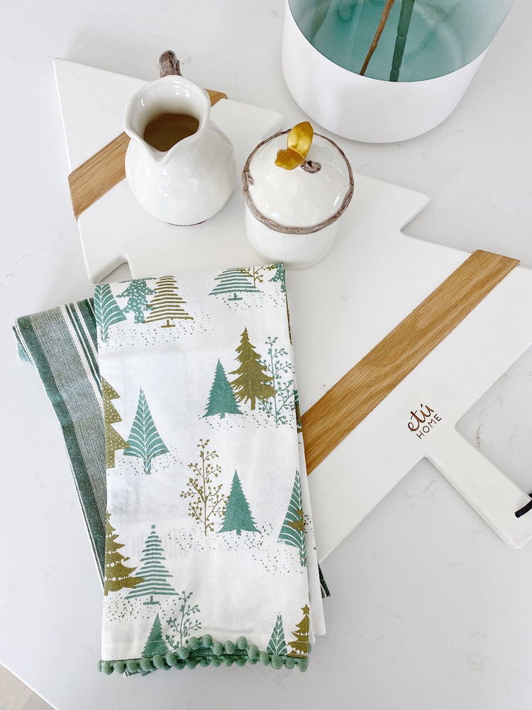 Holiday Tea Towel Set