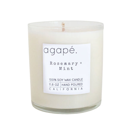 Agape Rosemary Mint Candle