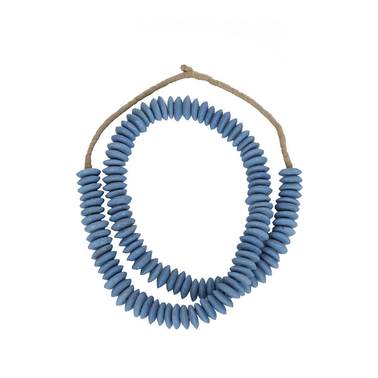 Carolina Blue Ashanti Beads