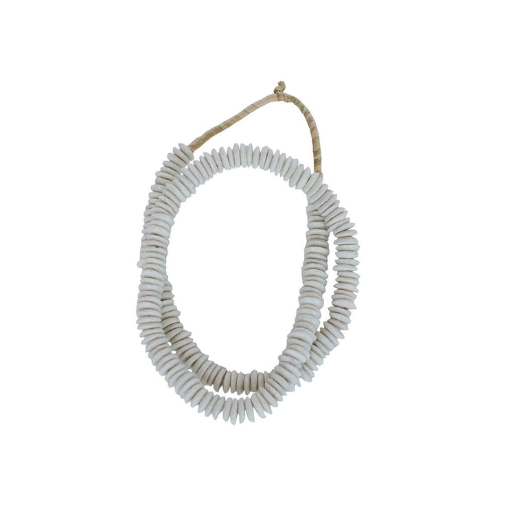 White Ashanti Beads