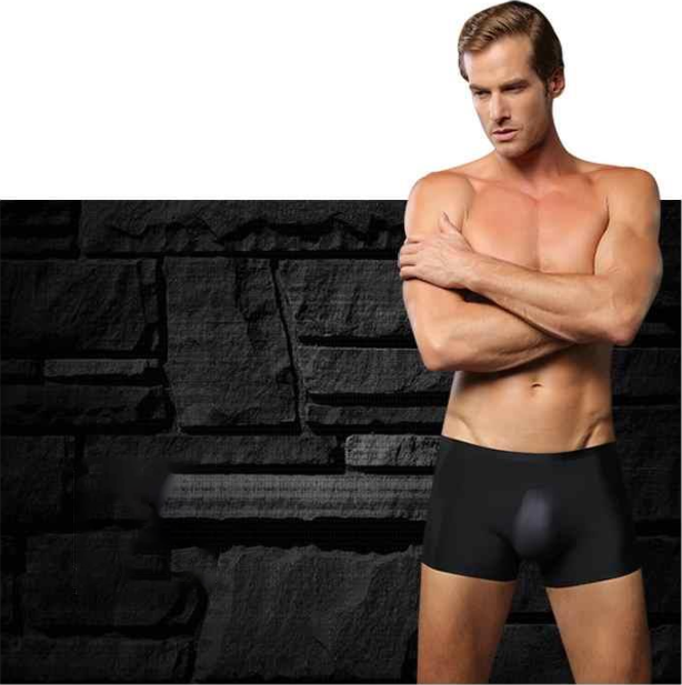 【BUY 3 GET 1 FREE & On-Time Delivery】 Men's Ice Silk Breathable Underwear