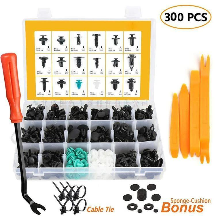 150/360/415/620PCS Set Of Foliar Bumper Holder Fixing Clip Kit