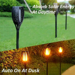 SOLAR FLAME TORCH (Buy 8 Get Free Shipping )