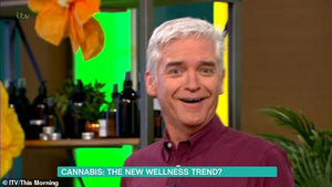 This Mornings Phillip Schofield & Holly Willoughby Testing Out The Benefits of CBD