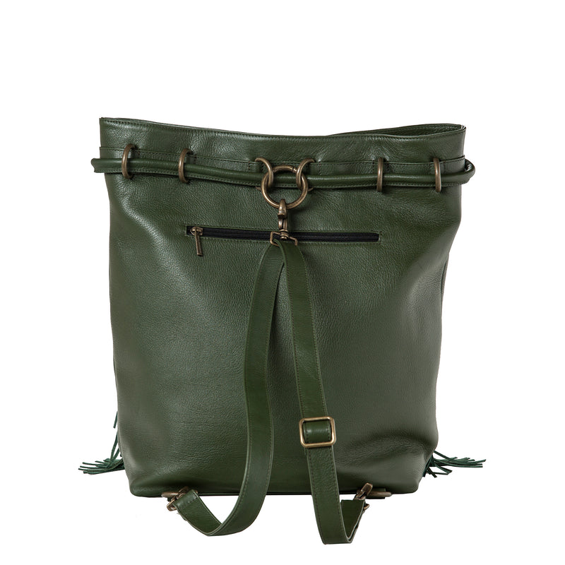 City-Bag - green/kelim