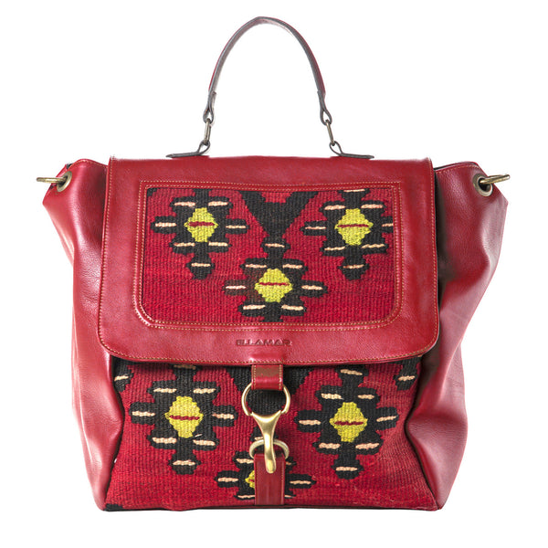 Shopper Bag - red/kelim