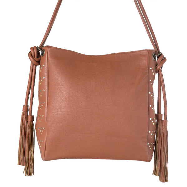Bag Marokko - brown/leather