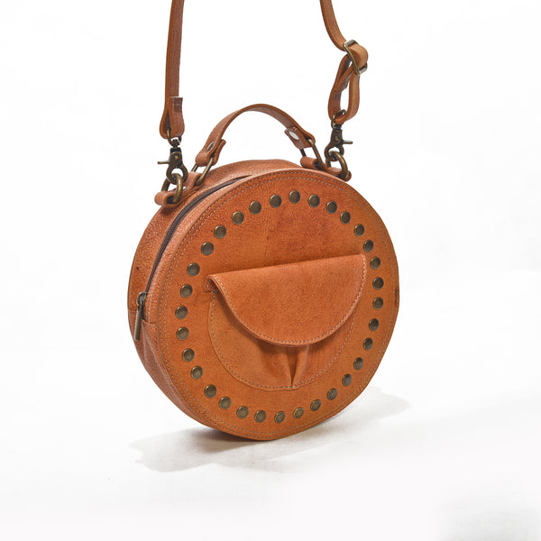 Bag Marrakesch - camel brown/leather
