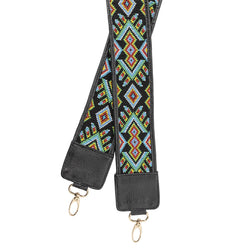 Ellamar Strap - black/gold/glass beads
