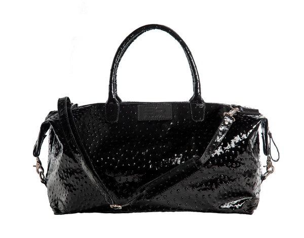 Cape Town - black/ostrich leather shiny