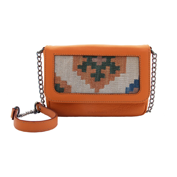 Bag Siena - orange/kilim