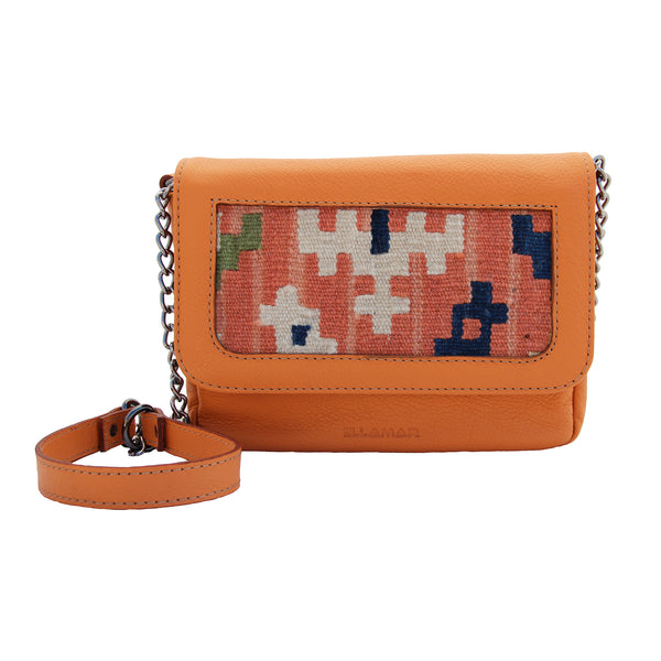Bag Siena - orange/red kilim