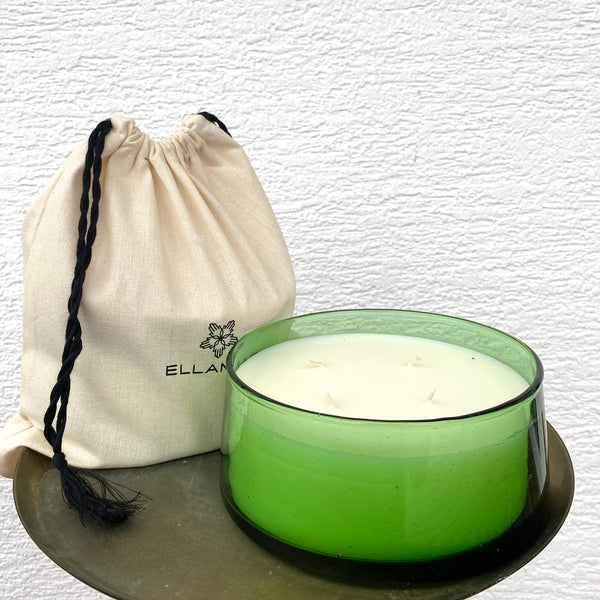 "Candle ""Mint & Tea"" - large"