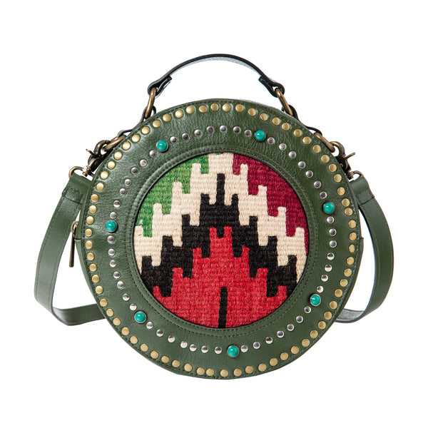Bag Marrakesch - green/kelim