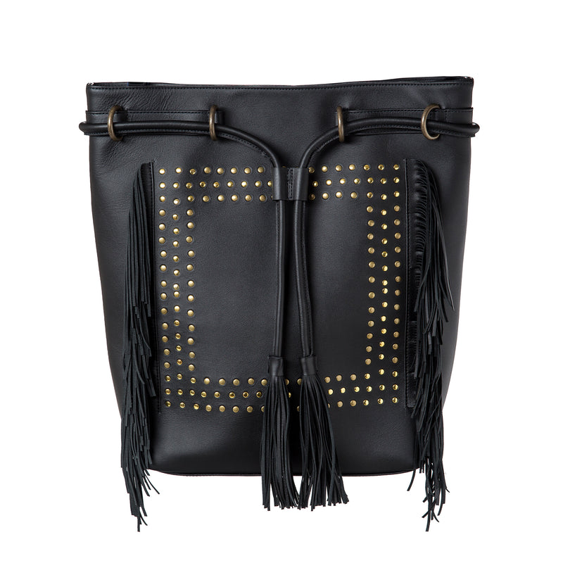 City-Bag - black/leather