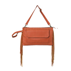 Beltbag - cognac/leather