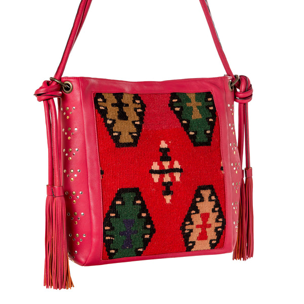 Bag Marokko - red/kelim