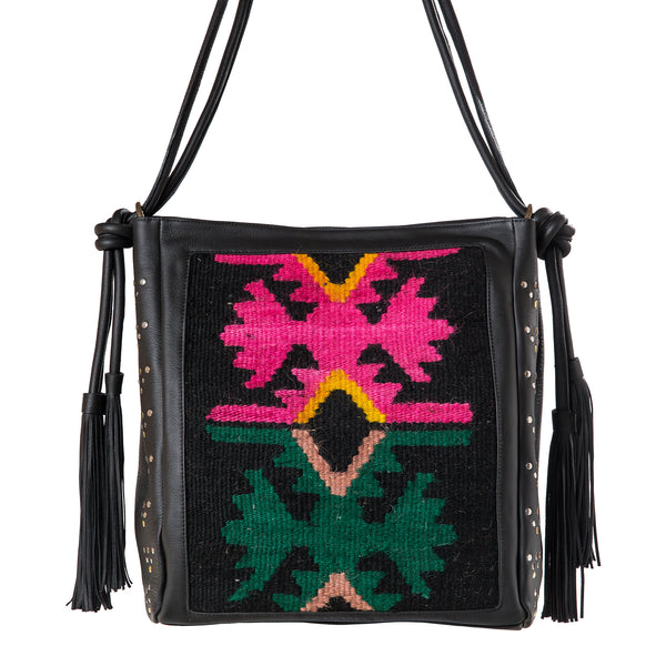 Bag Marokko - black/kelim