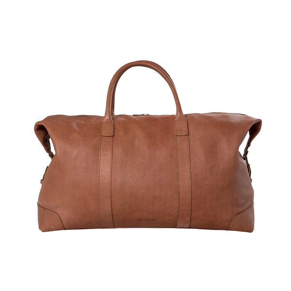 Travelbag - brown/leather