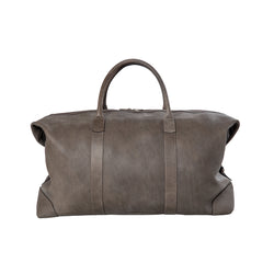 Travelbag - grey/leather