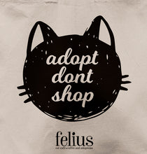 Load image into Gallery viewer, 'Adopt Don't Shop' Tote