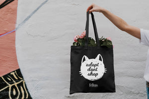 'Adopt Don't Shop' Tote