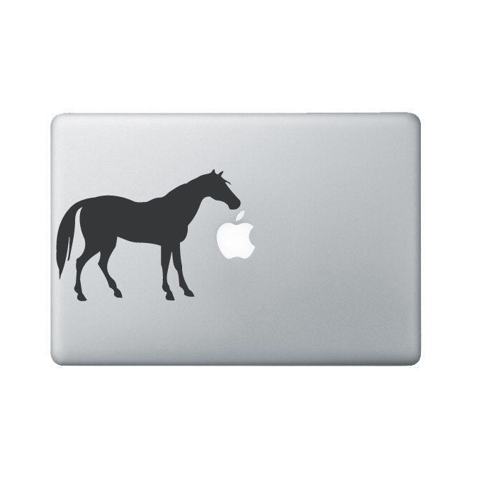 Horse Laptop Sticker - Horse Lover Gift - Laptop Decal - Equestrian