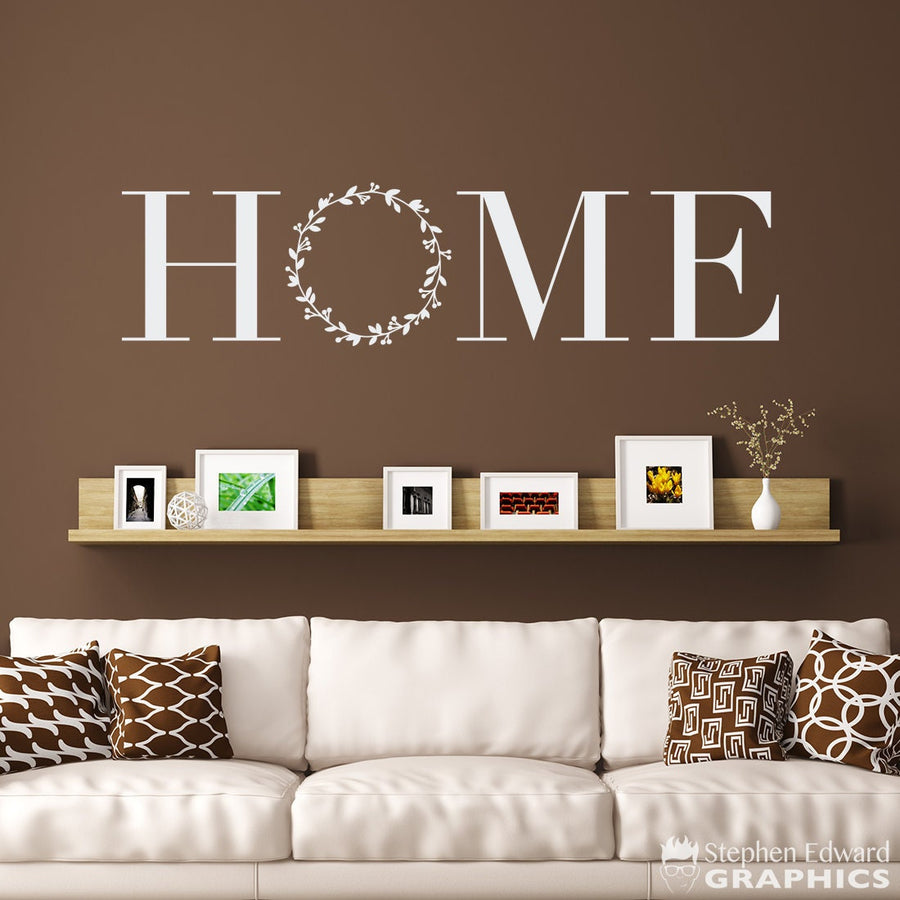 Farmhouse Home Wall Decal - Farmhouse Decor - Home Sticker - Laurel