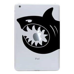 iPad Mini Decal - Shark Bite Decal - Shark Sticker for a tablet