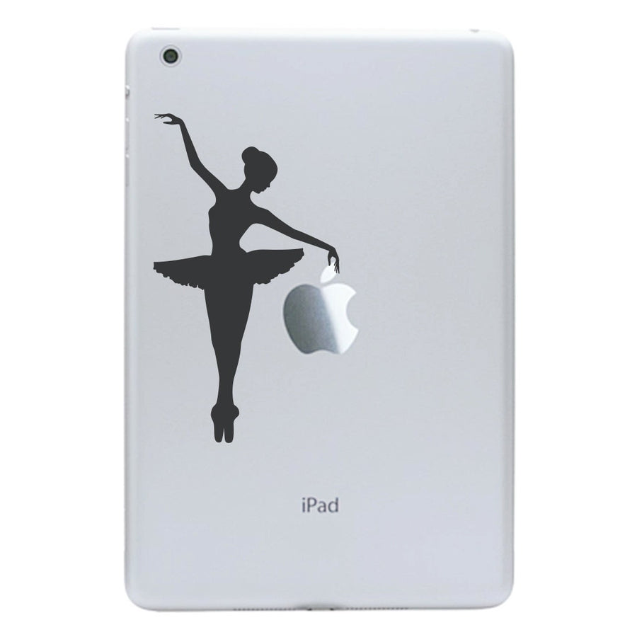 Ballerina iPad Mini Decal - Apple iPad Mini stickers - Ballerina Tablet Decal