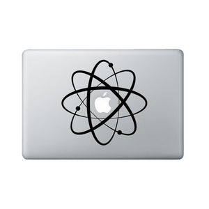Atomic Symbol Sticker - Science Laptop Decal - MacBook Vinyl Sticker - Nerd Gift