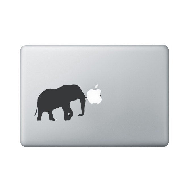 Elephant Tusk Macbook Decal - Elephant Laptop Decal - Macbook Sticker
