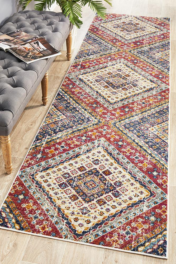 Babylon 203 Multi  Runner Rug