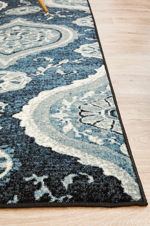 Calypso Collection 6103 navy Rug