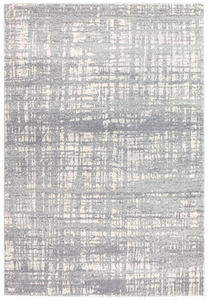 Mirage Ashley Abstract Modern Silver Grey Rug