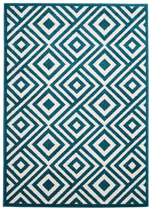 Marquee Indoor Outdoor 307 Peacock Rug