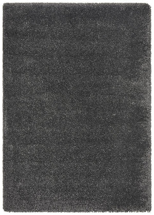 Pandora Collection Thick Soft Polar Graphite Shag Rug