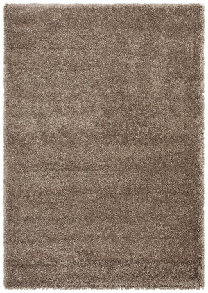 Pandora Collection Thick Soft Polar Latte Shag Rug