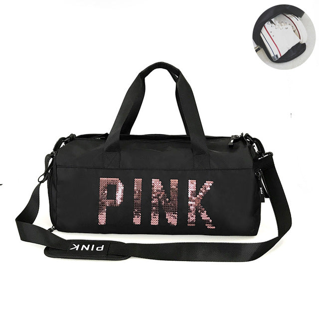 Sequins Gym Bag